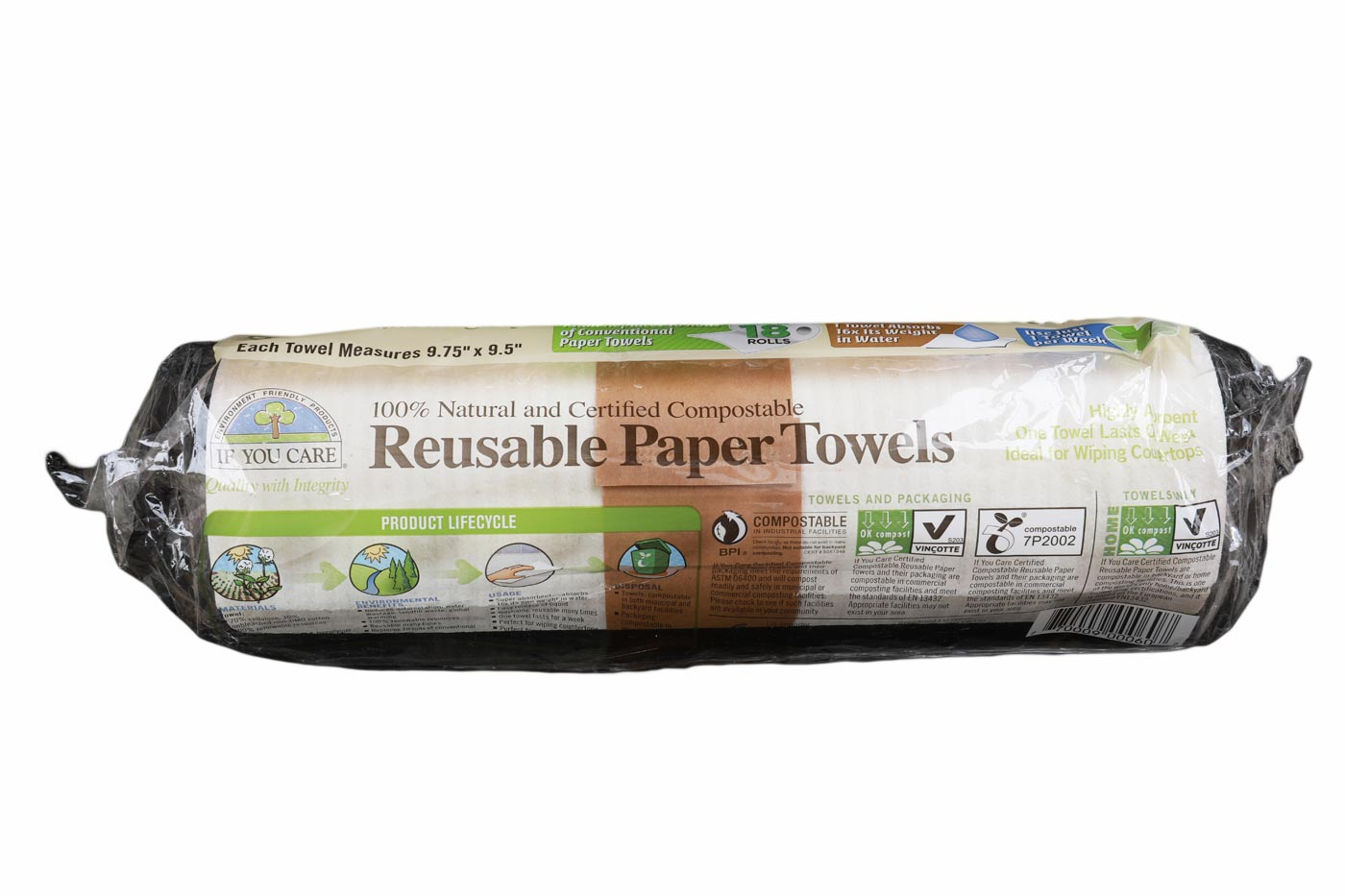 Papirnate brisače za večkratno uporabo