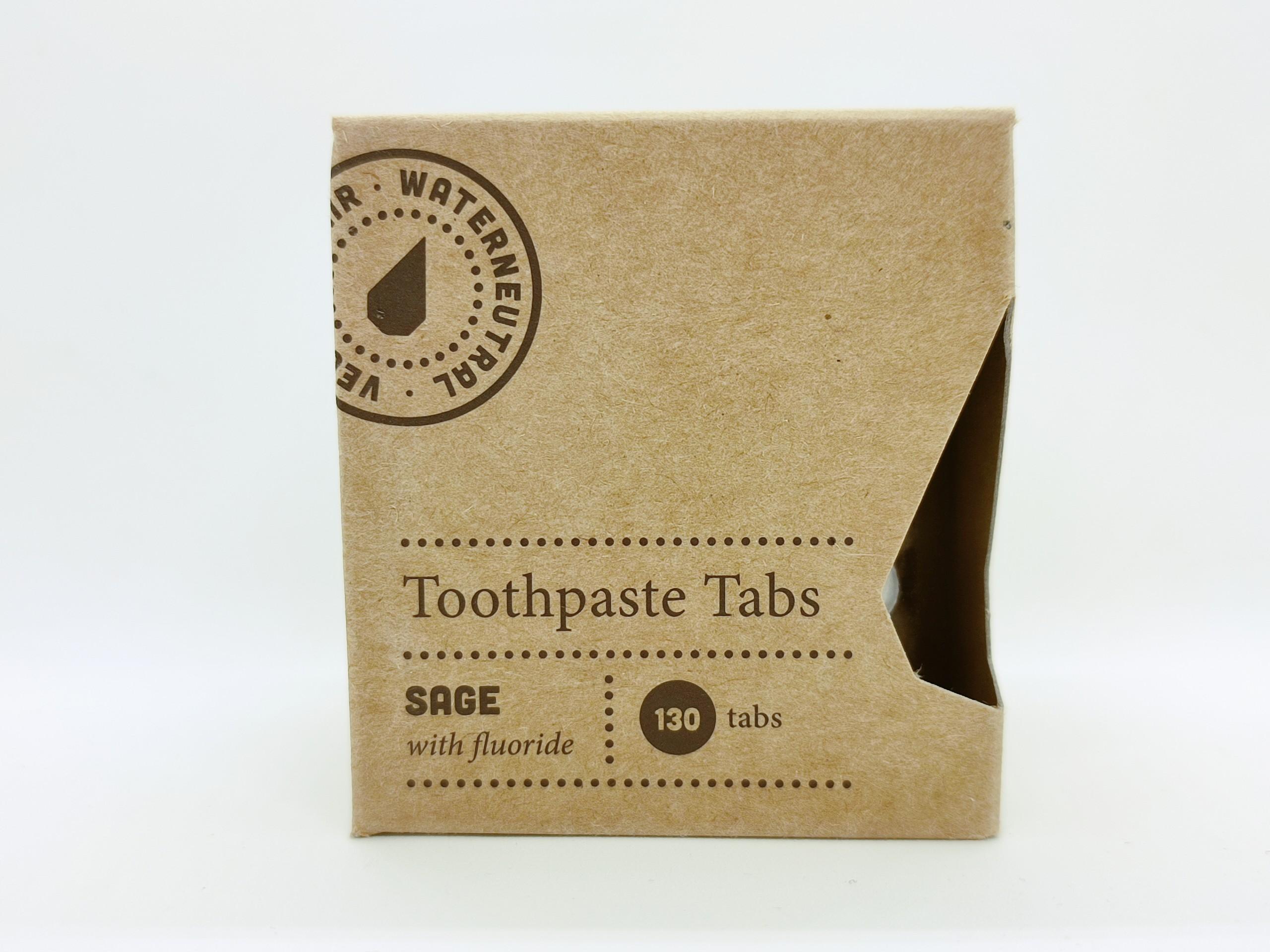 Zobna pasta v tabletkah žajbelj